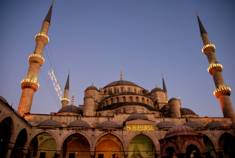 The blue mosque or why sometimes we shouldn't judge before we actually experience it