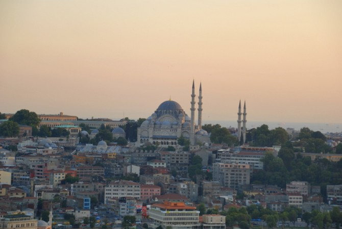Where to see the most beautiful sunset in Istanbul