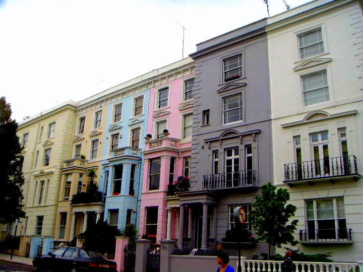Notting Hill: Transformation from being run down to one of the most expensive, nicest areas in London