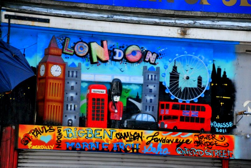 Camden town:  A place of extravagance and eccentricity