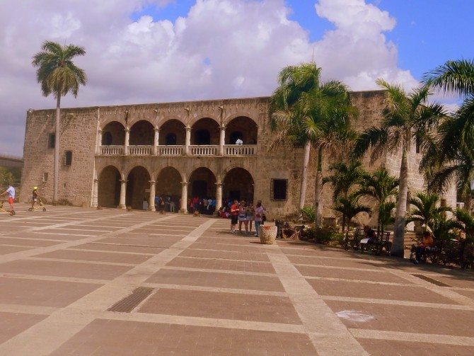 In the footsteps of Christopher Colombus- wandering through the historical part of Santo Domingo