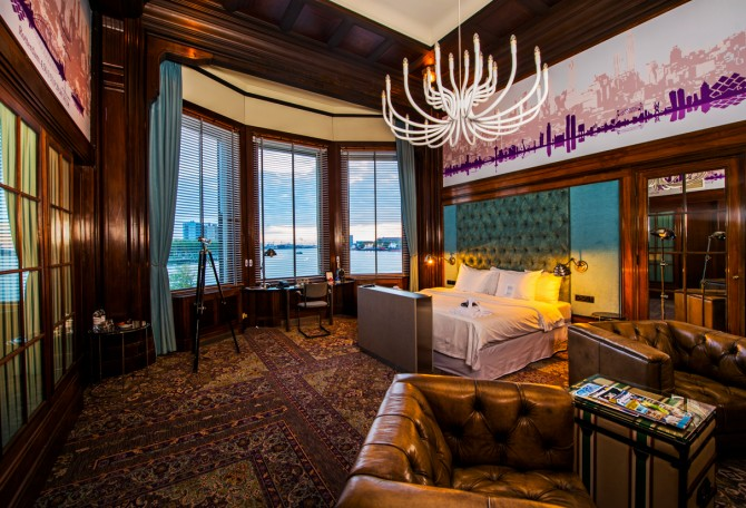 A place with a story to tell: Hotel New York, Rotterdam