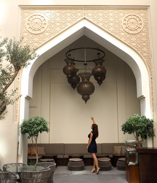 A luxurious boutique hotel: Manzil Downtown, Dubai
