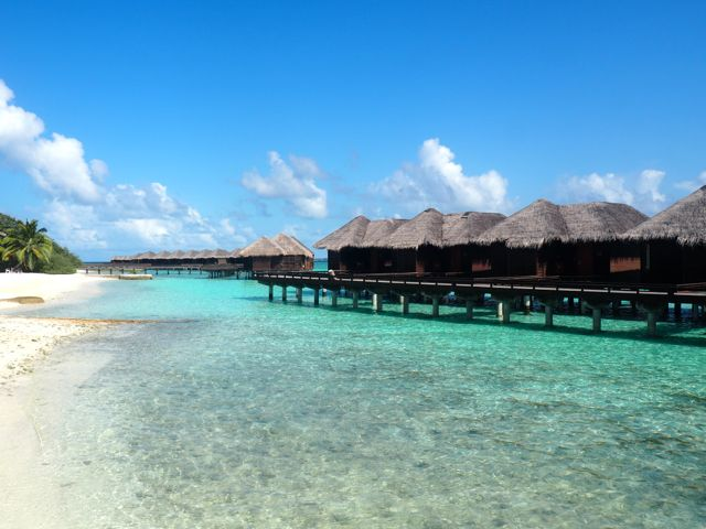 The Perfect Paradise in the Maldives: Sheraton Full Moon Resort & Spa