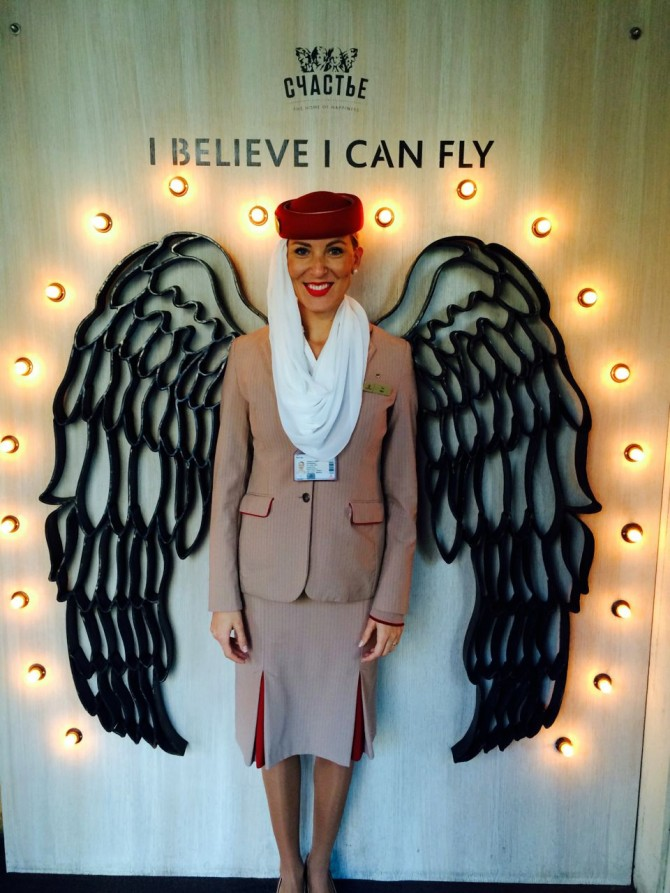 What is it like to work for Emirates airline? A flight attendant tells her story