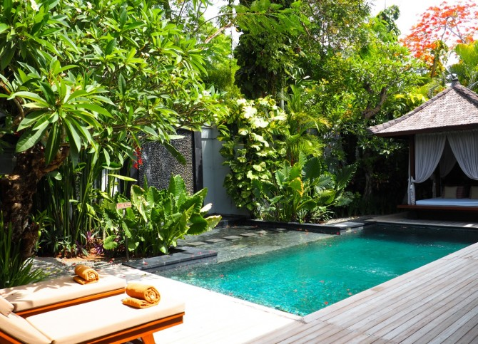 Bali Diary Day 13-15: Our own private pool villa at Awarta Nusa Dua Luxury Villas and Spa