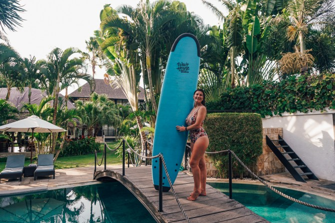 Surfing in Bali – Wave House Surf School & Camp